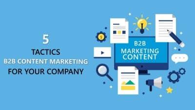 5 tactics for content marketing