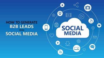 how to generate b2b leads from social media