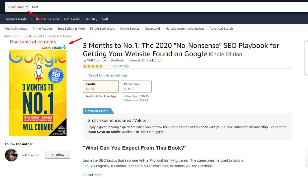 amazon is great for keyword research by brain dean. Find kindle ebook and look for table of contents and you will find plenty of keywords ideas. why you are not getting traffic to your website