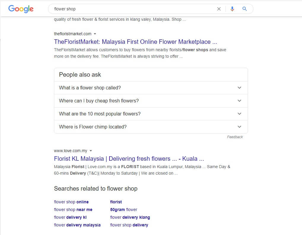 Google autosuggest as a keyword research tool for free content marketing benefits for small business b2bdigitalmarketers
