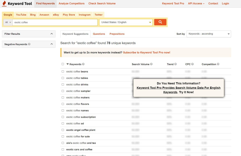 using keywordtool.io for keyword research and avoid content marketing mistakes b2bdigitalmarketers.com