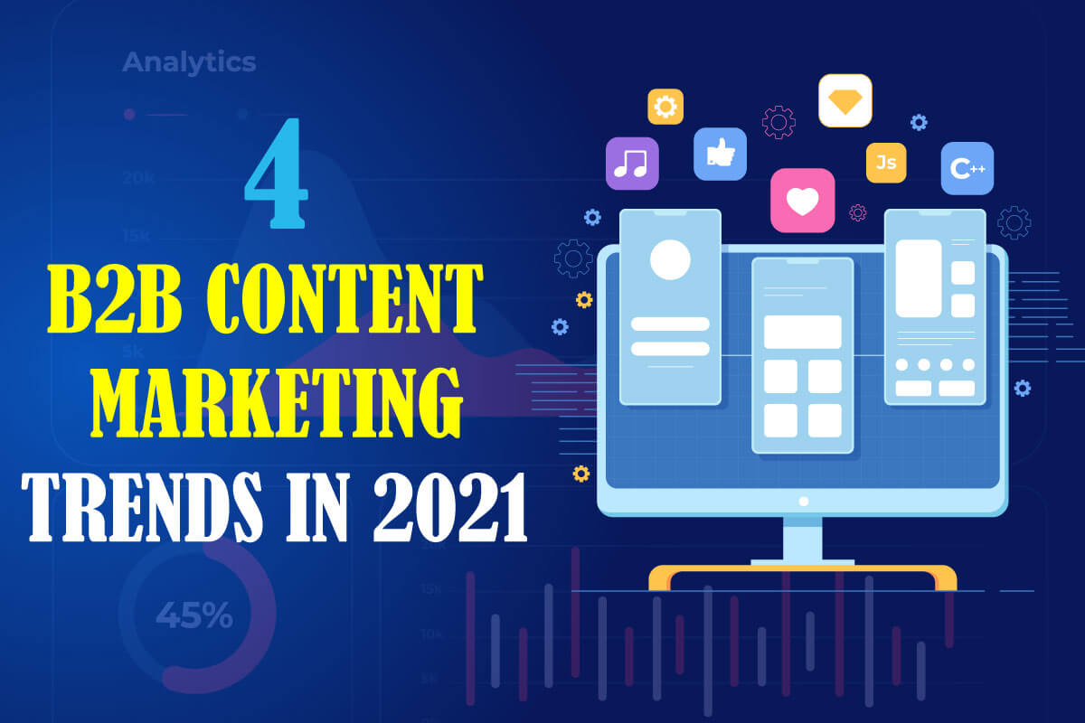 B2B Content Marketing Trends in 2021. Article from B2B Digital Marketers Eduard Dziak