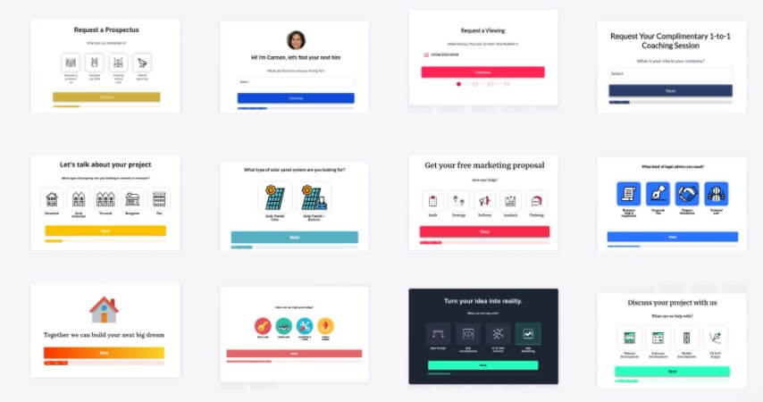 Best B2B Landing Pages templates of lead forms from Leadformly. Advanced conversion rate optimization strategies for b2b landing pages.