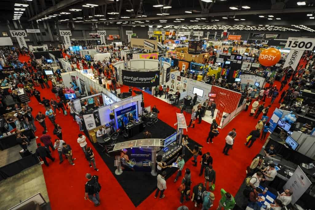 trade-show and conferences for b2b lead generation