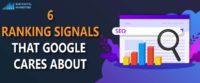 Important google ranking factors