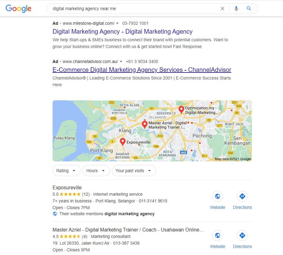 google local seo snipped to help organization drive more leads