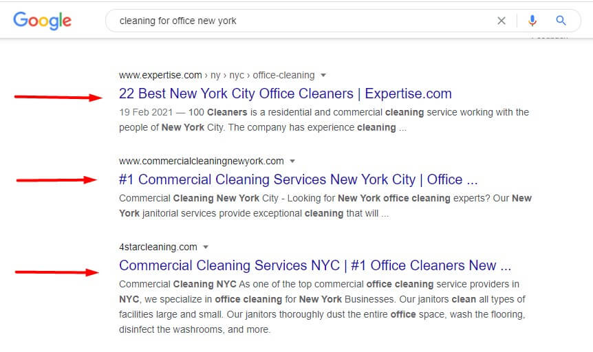 seo helps you to get on the top of the search results