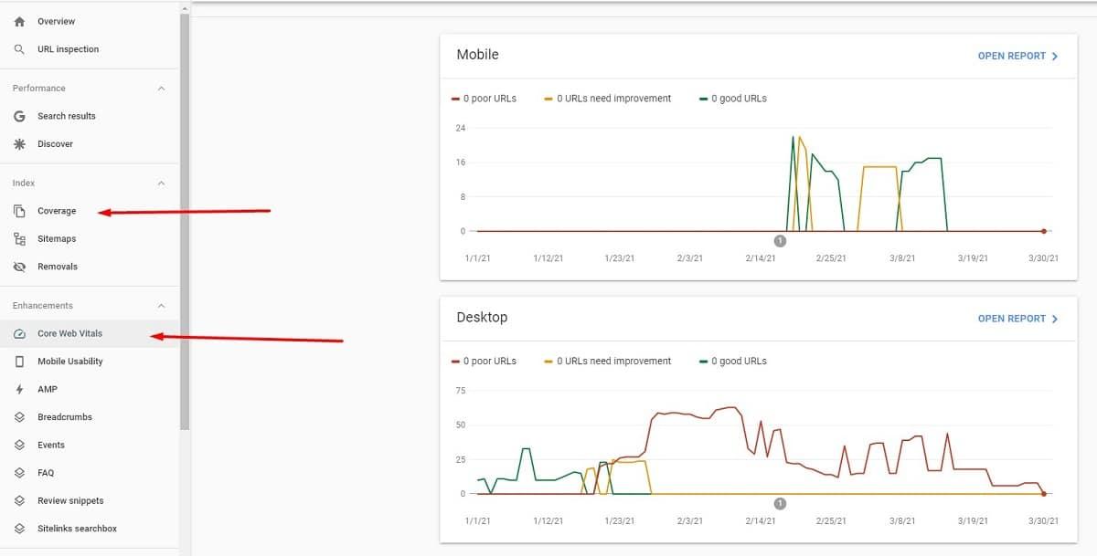 google search console finding technical seo errors