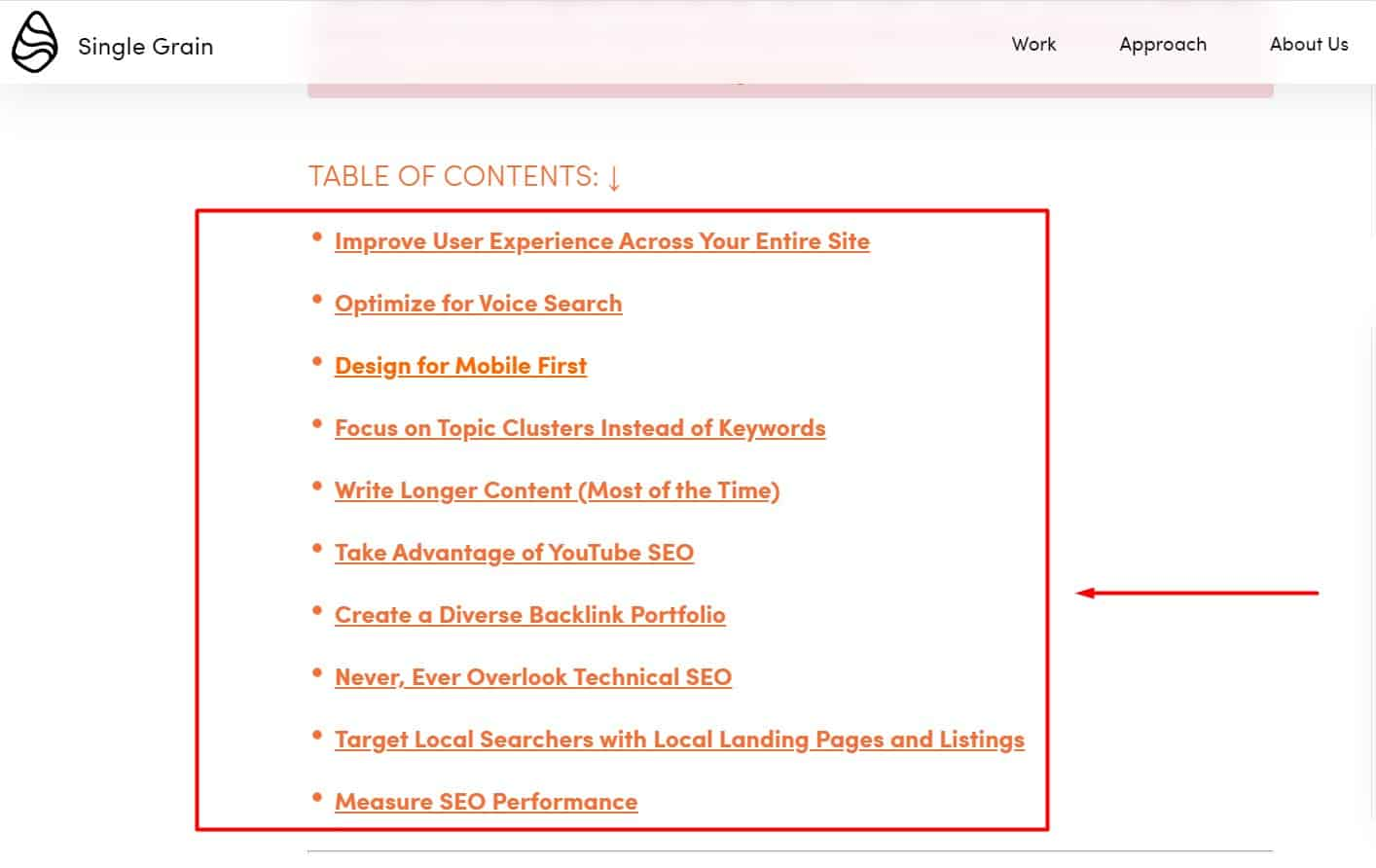 find lsi keywords from your competitor ranking pages and their headings