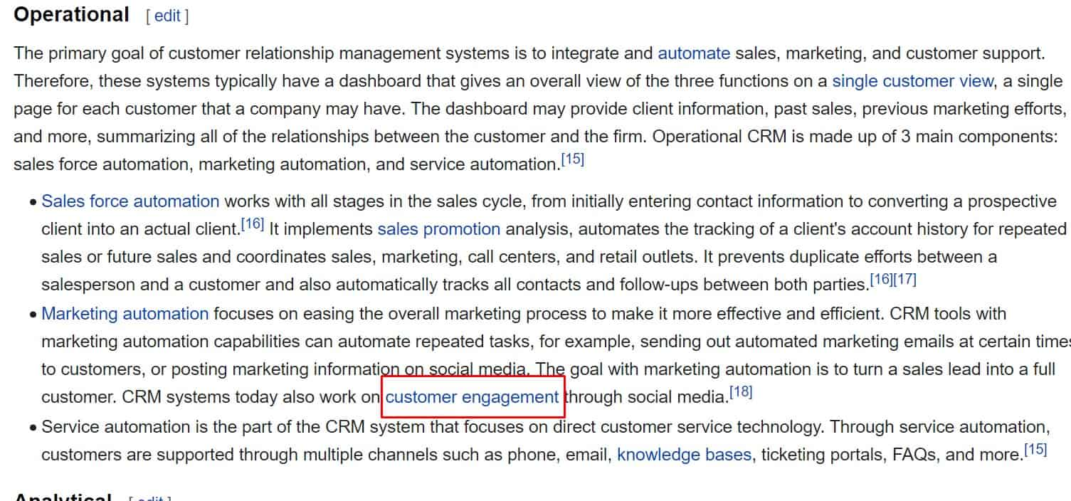 more seed keywords on wikipedia