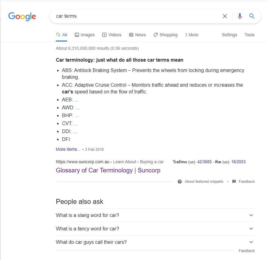 finding seed keywords using google to find profitable keywords