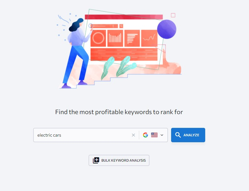 generating list of profitable keywords