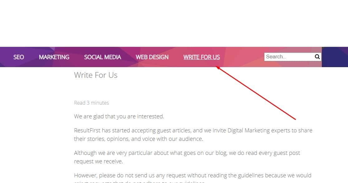 bad websites for guest blogging example