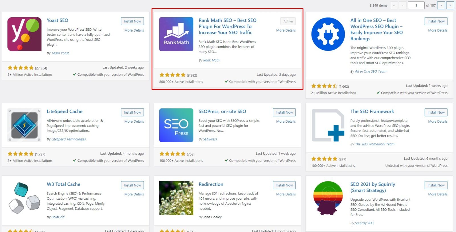 recommended seo plugin