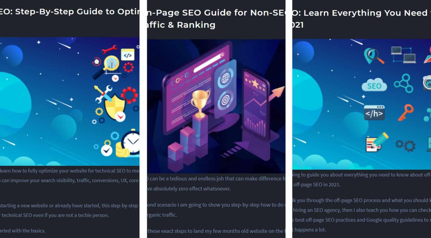 targeting seo keywords and optimizing content