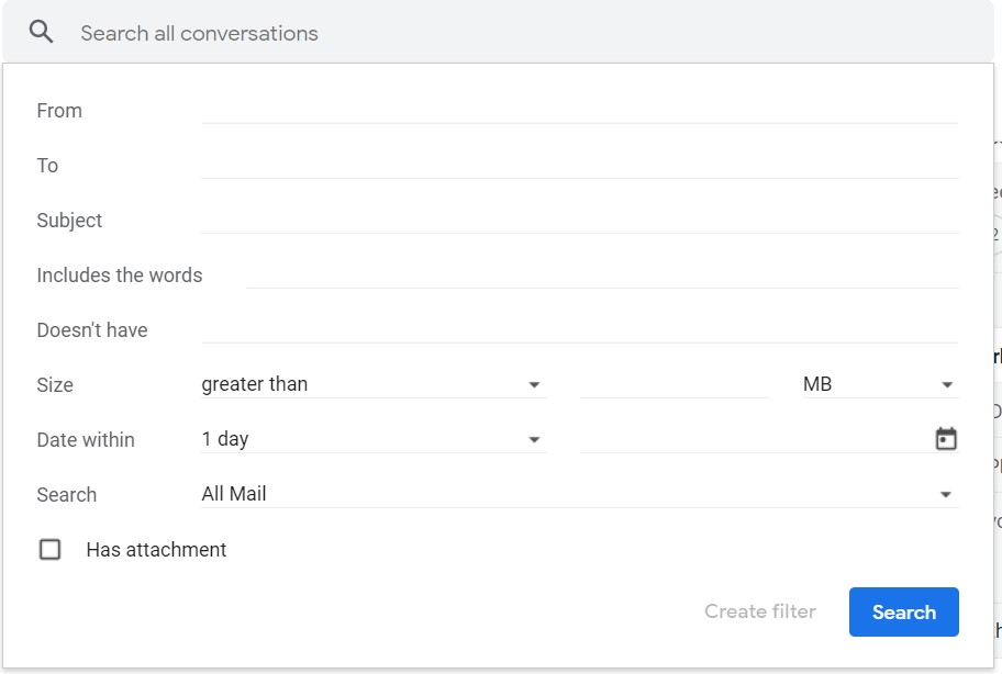 gmail filter setting for HARO