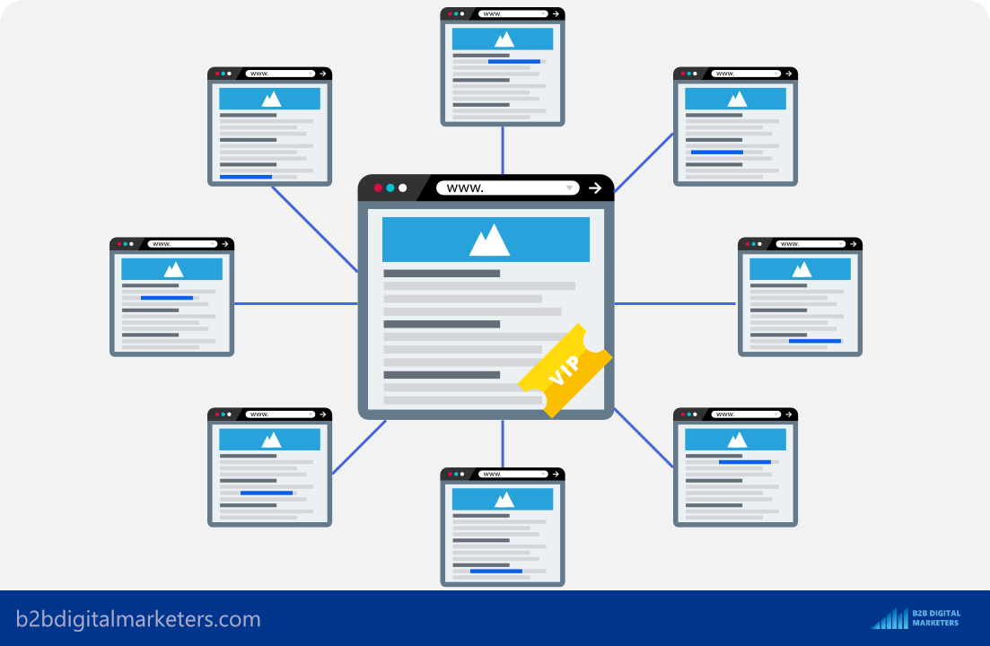 google look at internal links to understand how important is a web page