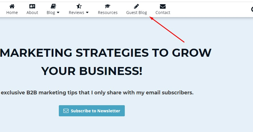 guest blog invitation publicly bad idea